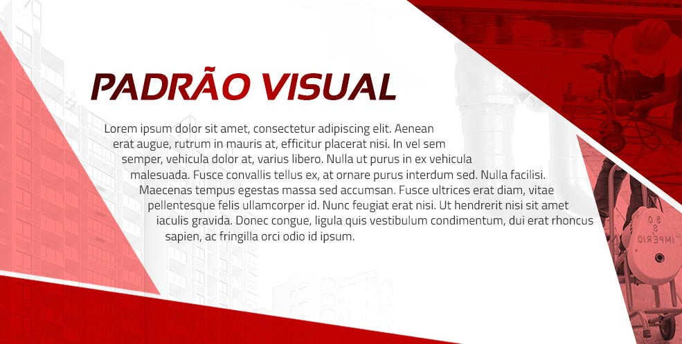 O padrão estético que a marca adotará para publicações, materiais de marketing e etc. para a ligação e coerência com o novo logo.