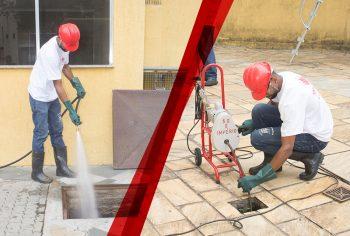 Qual a diferença de desentupimento por cabo e por hidrojateamento?