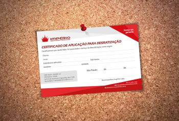 Certificado – Uma forma a mais de entregar serviços de qualidade para você!