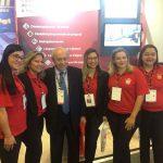 Nossa equipe ao lado do Hubert Gebara, Vice-Presidente de Administração Imobiliária e Condomínios do Secovi-SP