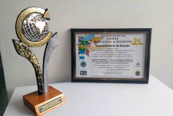 Desentupidora Império recebe Troféu Marketing e Negócios