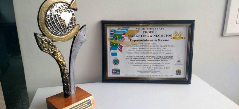 troféu Marketing e Negócios