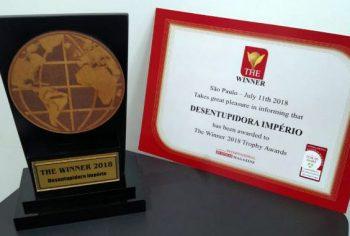 Desentupidora Império conquista prêmio The Winner 2018