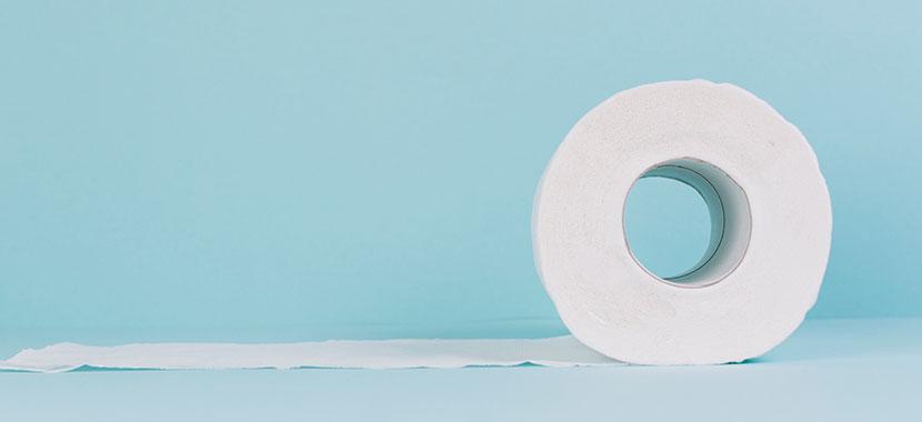 Desentupir vaso sanitário com papel higiênico
