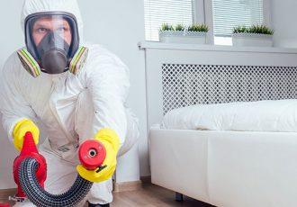Sanitização e desinfecção de ambientes